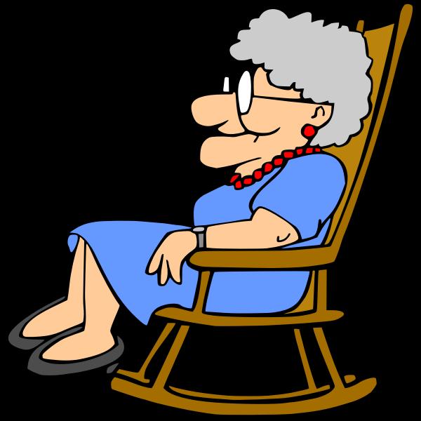 Grandma resting