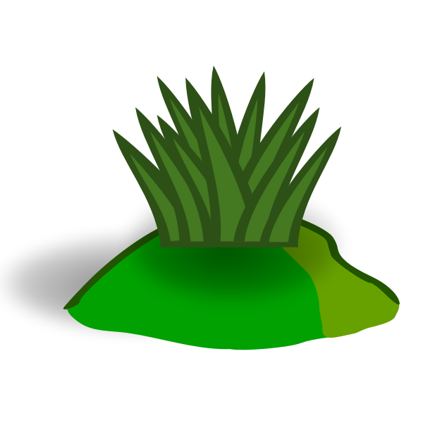 Grass hill