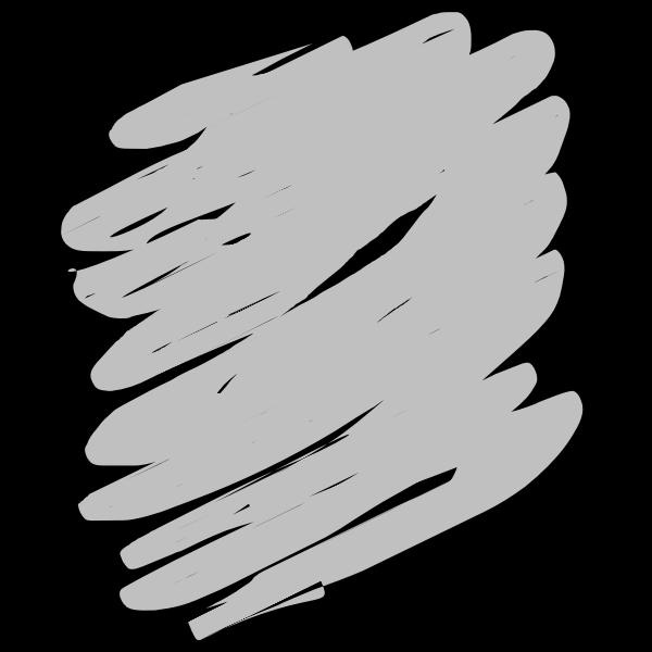 Grey scribble