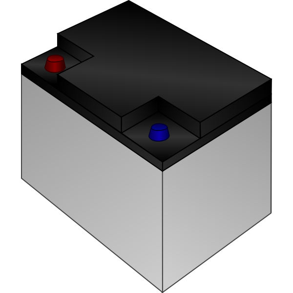 Car battery vector graphics