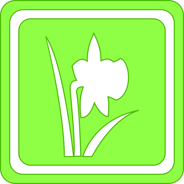 Spring icon vector graphics