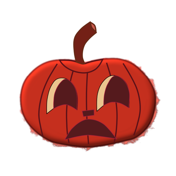 Halloween pumpkin 1 vector clip art