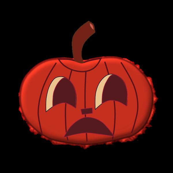 Halloween pumpkin 1 vector clip art
