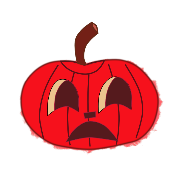 Halloween pumpkin 2 vector image