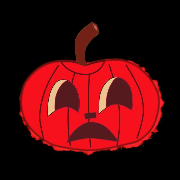 Halloween pumpkin 2 vector image