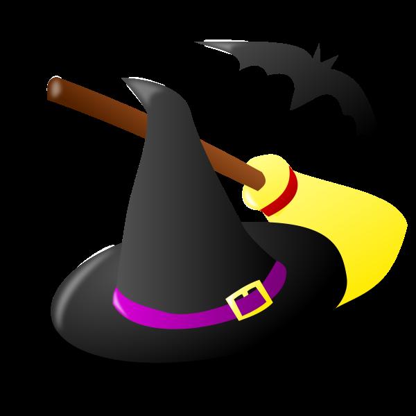 Halloween witchcraft vector image