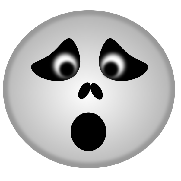 Halloween emoticon vector drawing