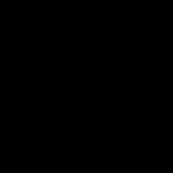 Line art vector clip art of hammer, sickle and star in laurel wreath