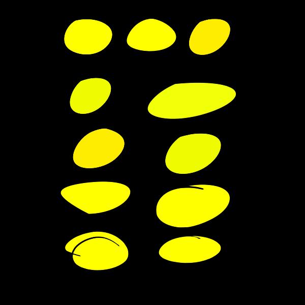 Handwritten circles set