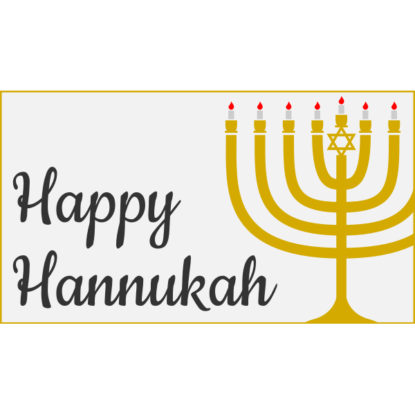 happy hannukah paths only