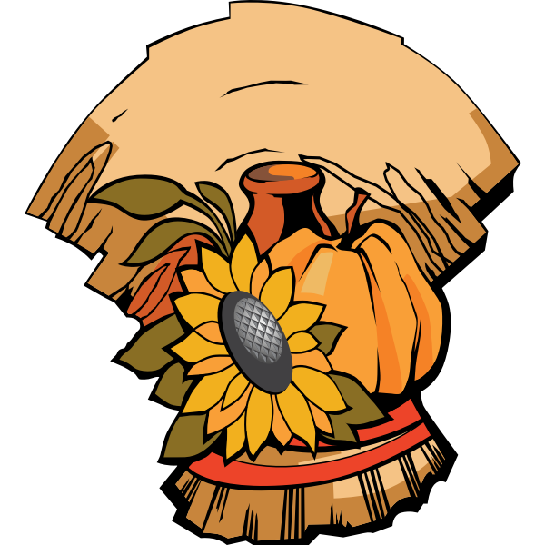 Harvest banner vector image