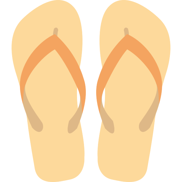 Flipflops vector graphics