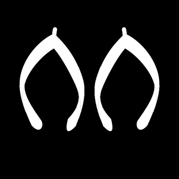 Flipflops vector clip art