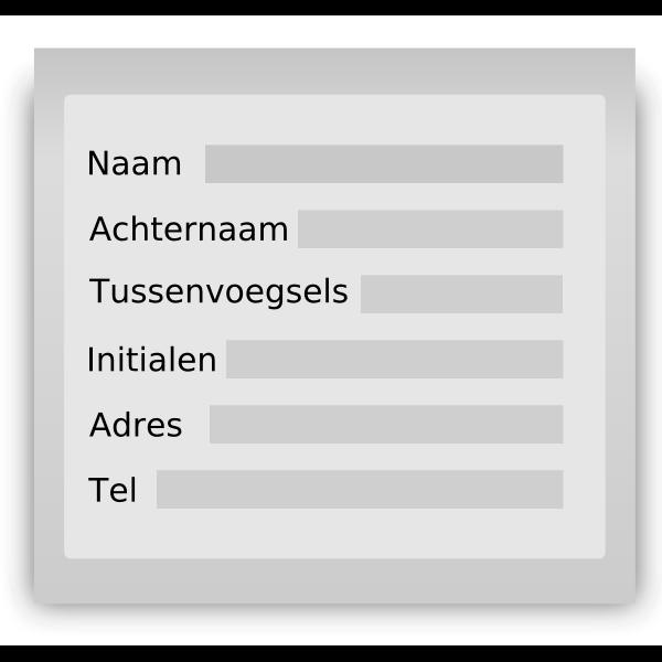 personal information dutch