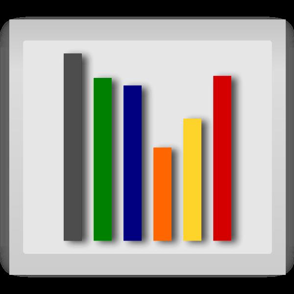 Statistics vector illustration