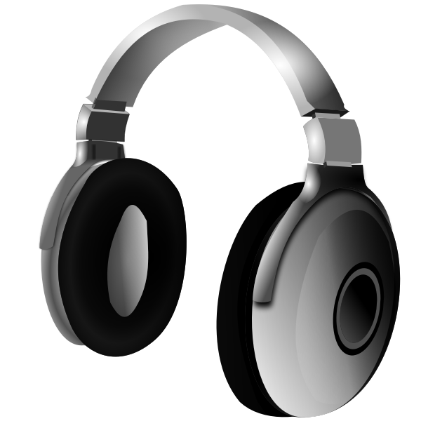 Studio headphones vector image