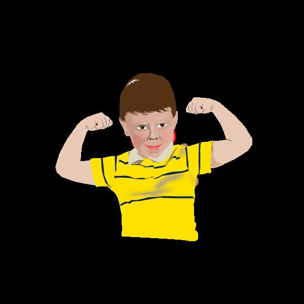 Healthy kid