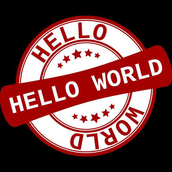Label ''Hello World''