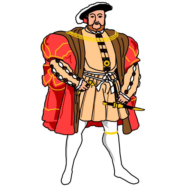 King Henry cartoon image