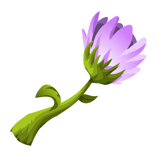 herbs purple flower