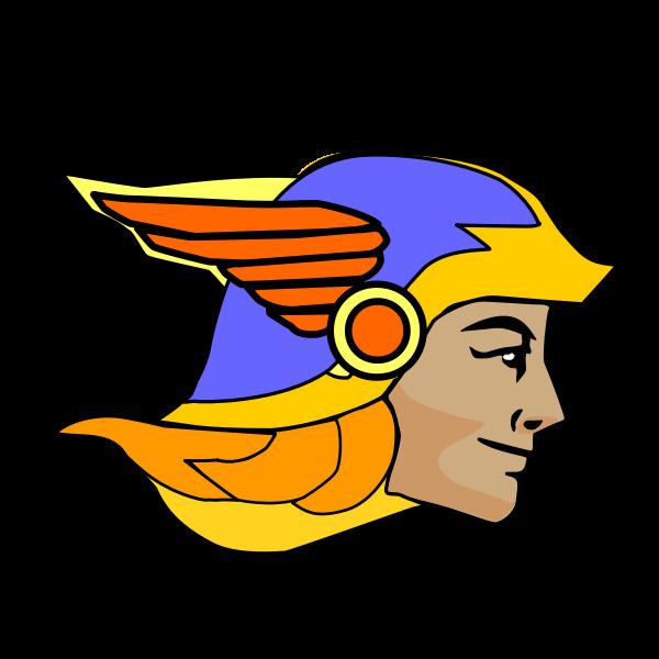 Image of Greek God Hermes