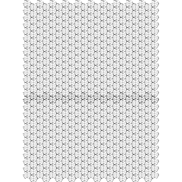 hexagoned paper a3 med 02r
