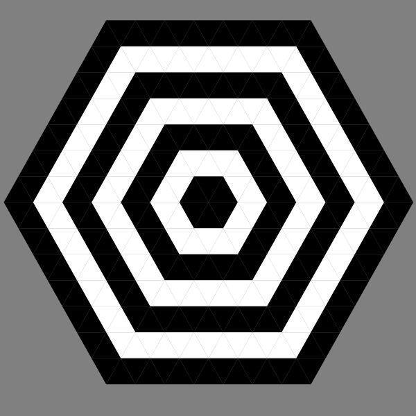 Hexagon Target