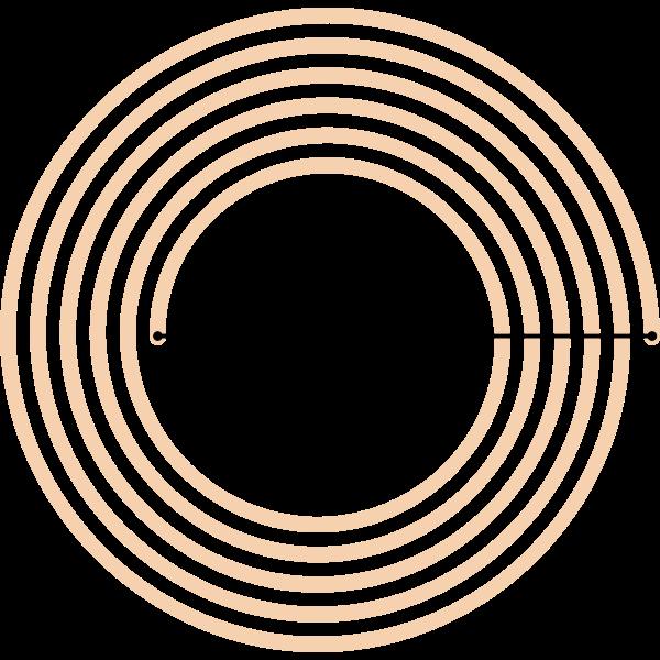 Vector illustration of HF-RFID-Tag sign