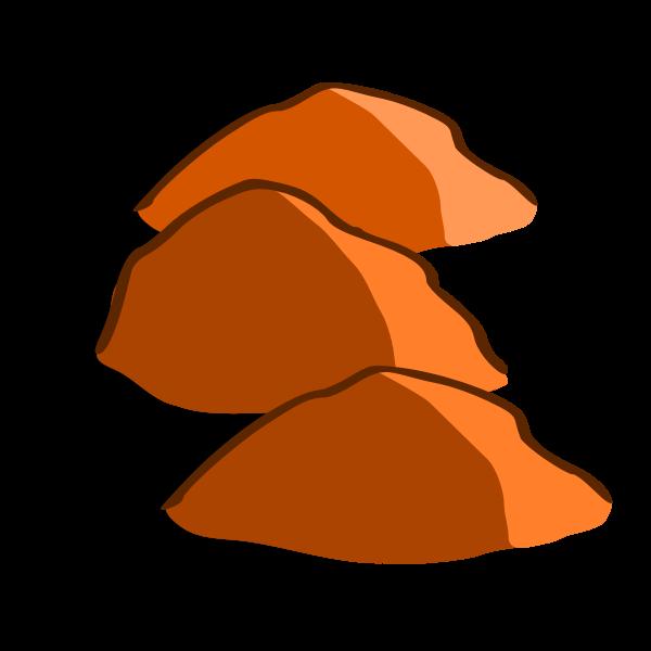Hills vector image