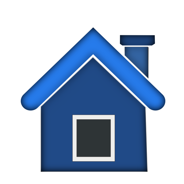 Simple house vector graphics