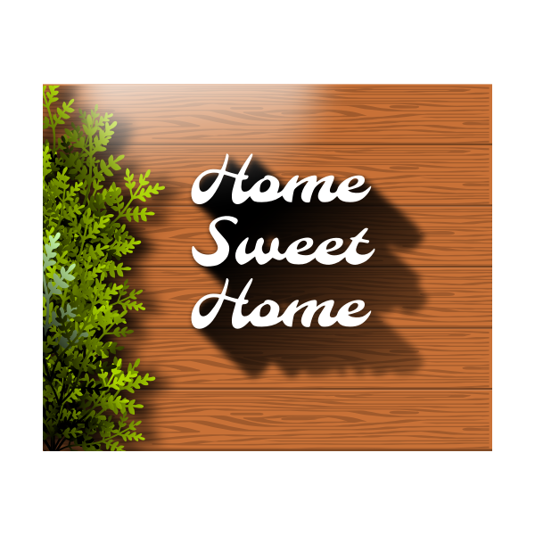Home Sweet Home Icon Free Svg