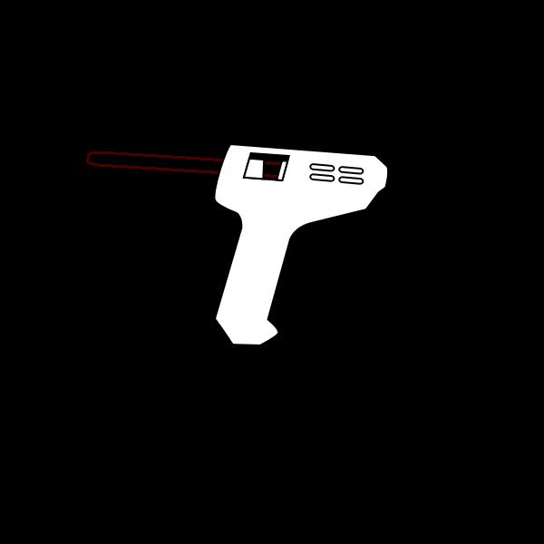 hot glue gun coloring