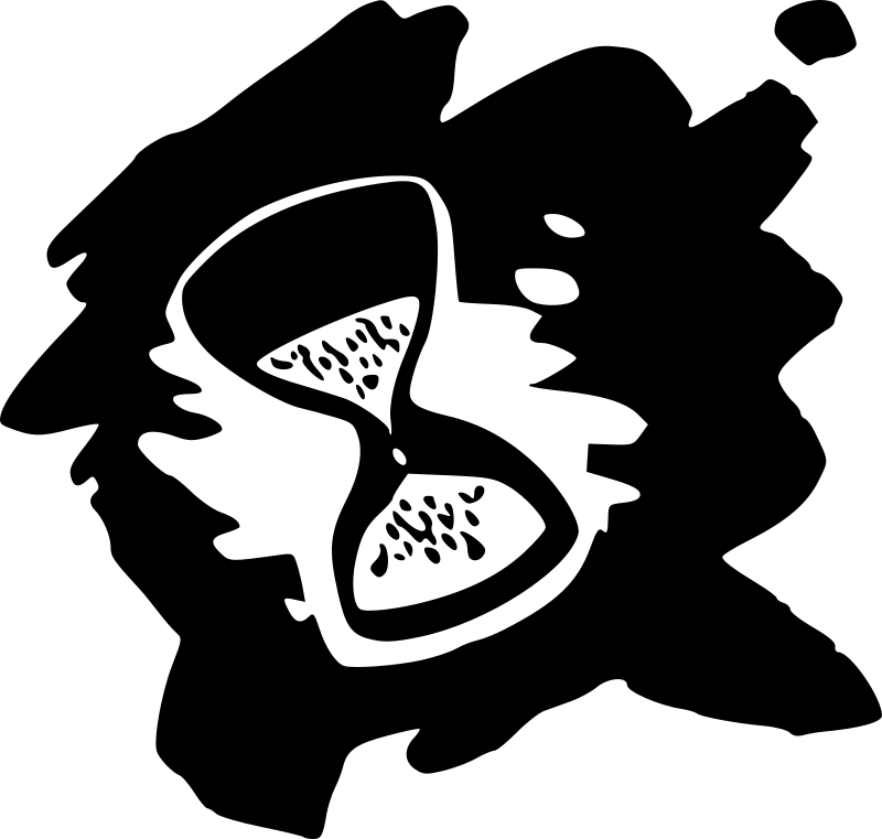 Chronometer vector graphics on green background