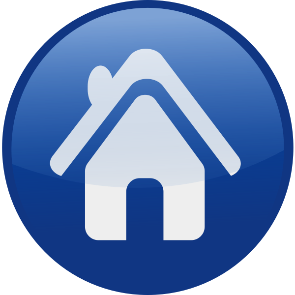 House vector icon image