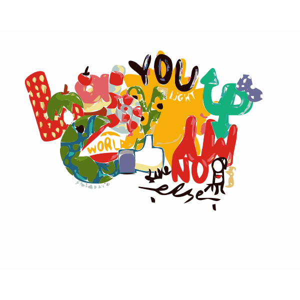 Lyrics vector illustration