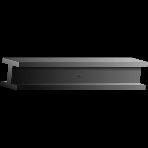 Steel bar vector image