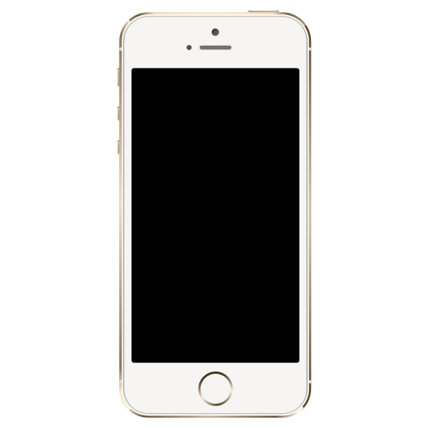 Vector image of iPhone 5S