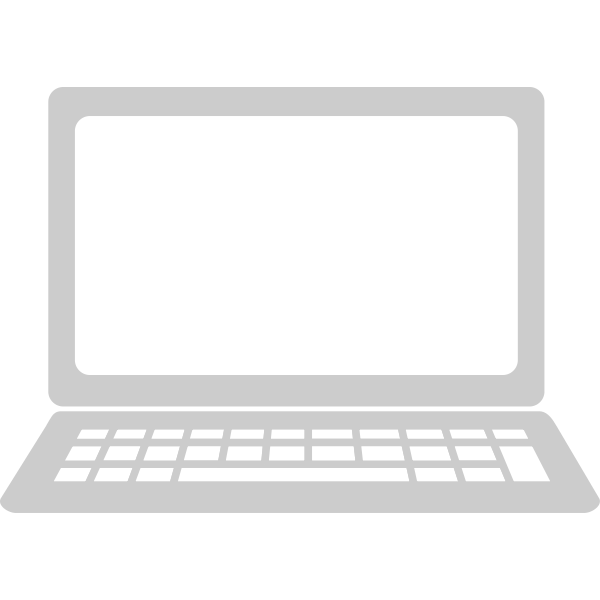 Laptop iomputer icon