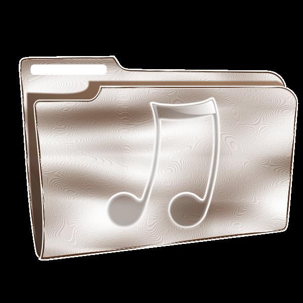 CD folder vector graphics