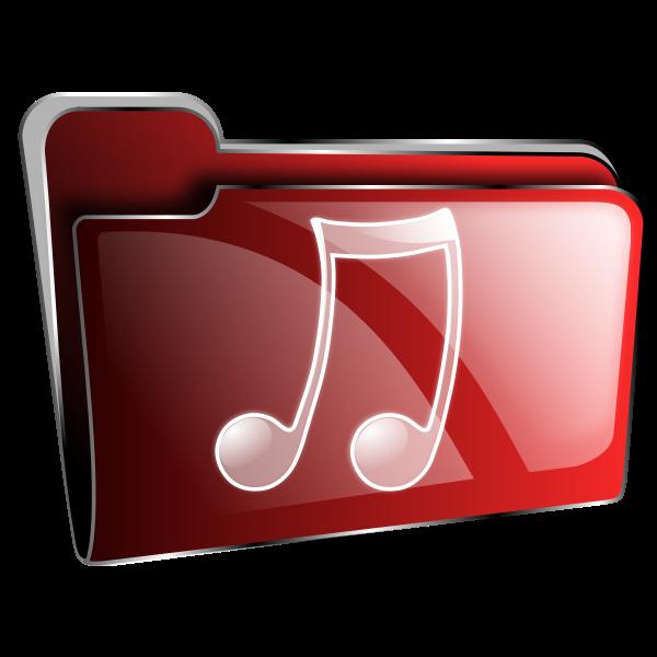 Folder icon vector illustration