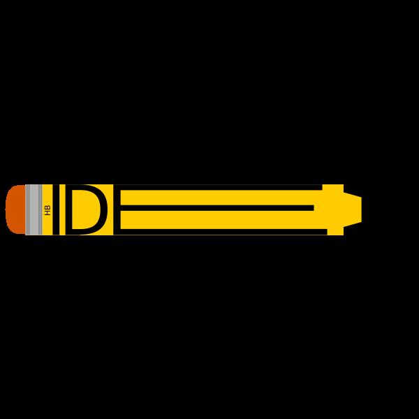 Idea pencil logo concept