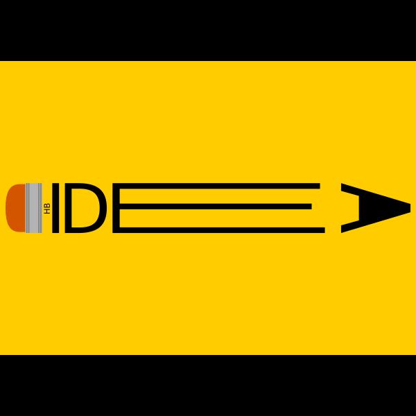 Idea logo concept