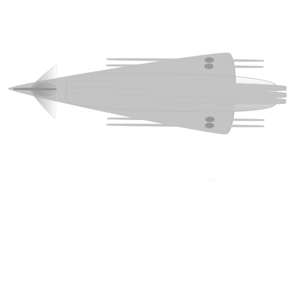 Space jet with laser guns vector clipart