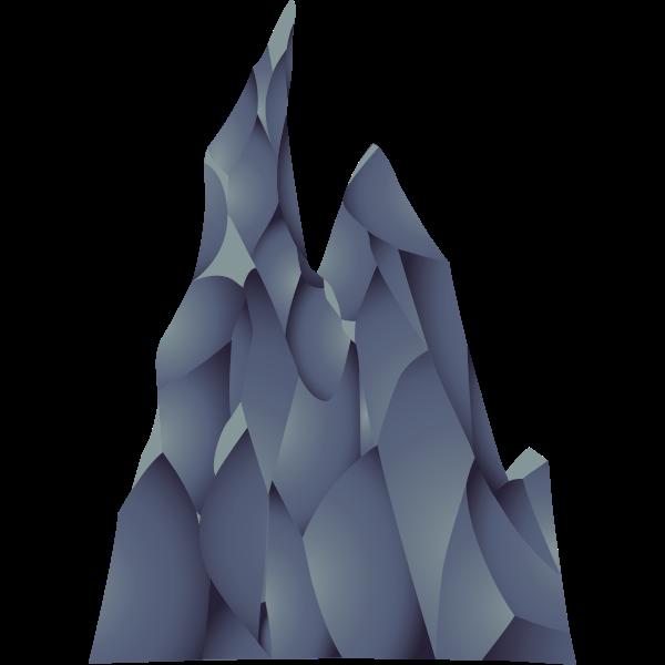 ilmenskie cave large rock 1