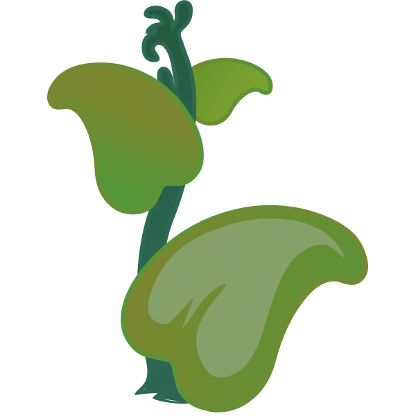 Ilmenskie Zutto plant vector graphics