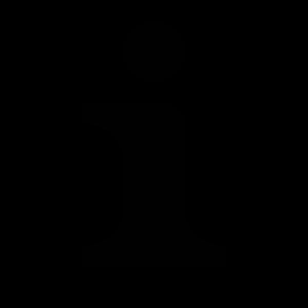 Info silhouette