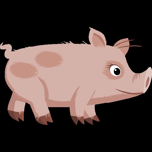 Npc Piggy vector illustration