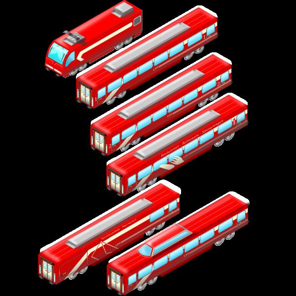 intercity rosso