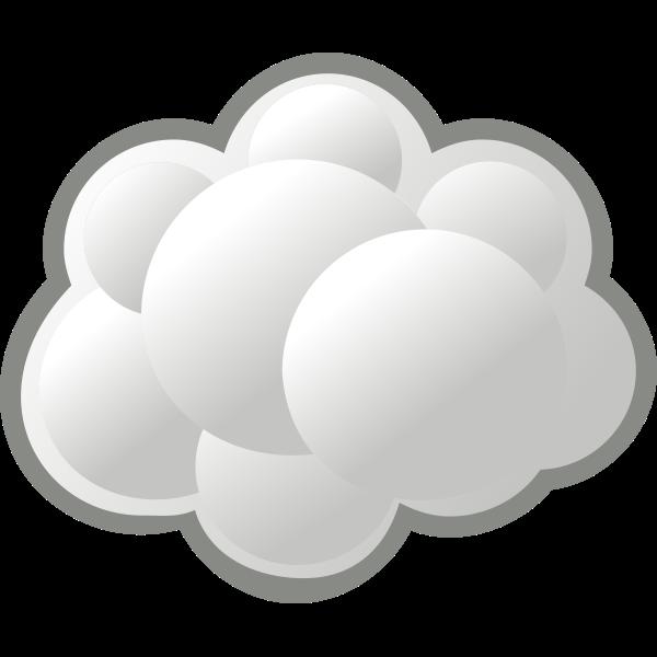 Internet cloud vector graphics