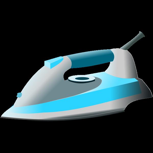 Blue modern iron